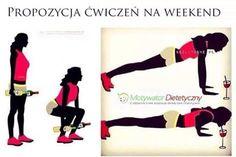 Żeby ćwiczyło się milej, zachęcamy do utrzymania stylu z początków naszej kampanii #rusztylek #wyjdz <3 Tak ćwiczą niezależne kobiety z naszej ekipy! Ćwiczysz i Ty? #motywacja #matkaboskachodakowska