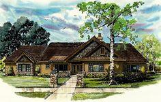 Bungalow Craftsman Ranch House Plan 43207