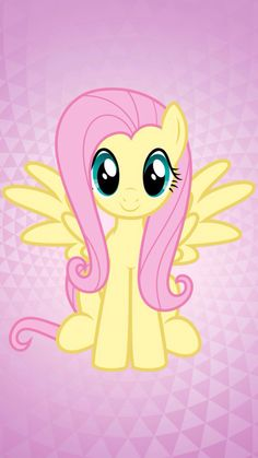 MLP. Fluttershy Wallpaper!!!!