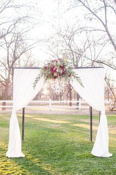 282 Top Wedding Arbors Images Real Weddings Wedding Arbors