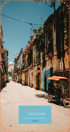 Here are a few things to know about Cuba before traveling to this interesting country. #Travel #TravelCuba #TravelCentralAmerica #CubaThingsToKnow Travel Advise, Travel Guide, South America Travel, North America, Cuba Itinerary, Beach Vacation Spots, Cuba Beaches, Going To Cuba, Visit Cuba