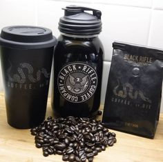 Black Rifle Coffee Company, Premium Coffee, Coffee Talk, Coffee Bottle, Brewing, Cool Things To Buy, Coffee Products, Food And Drink, Mugs