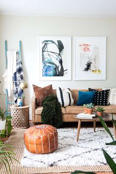 BOHO FALL HOME TOUR - PLACE OF MY TASTE