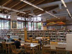 Issaquah Library by brewbooks, via Flickr