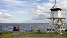 Reposaari ja kalastajavene Gazebo, Outdoor Structures, Kiosk, Pavilion, Cabana