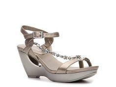 Andrew Geller Anson Wedge Sandal Women's Wedge Sandals Sandals Women's Shoes - DSW