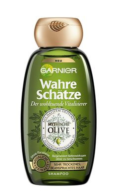 Garnier Wahre Schatz Shampoo with Olive Oil for very Dry Hair 250ml * More info could be found at the image url. #hairfashion