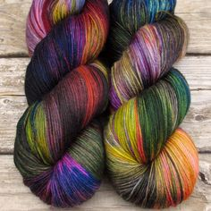 Infinity - Yowza - Babette - I so want to buy several of these colorways. This company has amazing yarn!