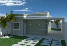 c Bungalow, Townhouse, Small Spaces, House Plans, Sweet Home, House Design, Doors, Mansions, House Styles