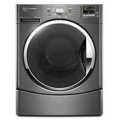 I would SO love a Maytag front load washer/dryer combo! Mine is SO antique. :( This set looks awesome! Laundry Appliances, Home Appliances, Commercial Appliances, Front Load Washer, Appliance Repair, Energy Star, Online Furniture, Washer And Dryer, Home Depot