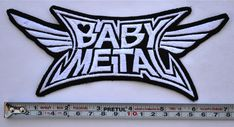Babymetal Patch Embroidered Medium Size sew on Aufnäher パッチ BABY METAL | Entertainment Memorabilia, Music Memorabilia, Rock & Pop | eBay!