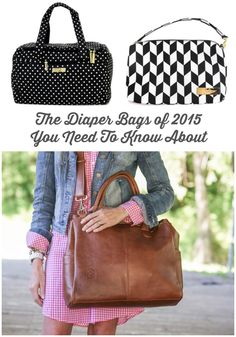 The Diaper Bags of 2015 You Need To Know About