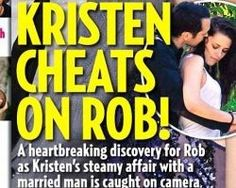 Latest news  on the Kristen Stewart and Robert Pattinson cheating scandal