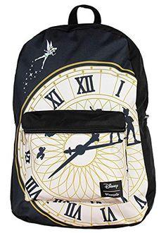 b2ea1c889c7 Best Seller Loungefly Disney Tinkerbell Backpack Peter Pan Clock Print  online