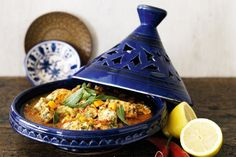 Lift the lid on this conical cooking pot and unveil the secrets to mouth-watering Moroccan cuisine.