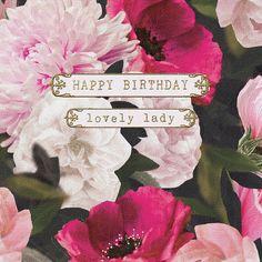 Happy Birthday Lovely Lady