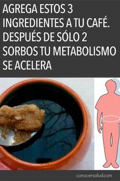 Agrega estos 3 ingredientes a tu café. Después de sólo 2 sorbos tu metabolismo se acelera - Conocer Salud