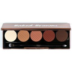 Dose Of Colors Baked Browns Eyeshadow Palette is a warm toned eye shadow palette features 5 ultra pigmented matte brown shades with a smooth buttery feel. The palette includes a mini double ended eyeshadow brush. Brown Eyeshadow Palette, Eyeshadow Brushes, Makeup Palette, Eyeshadows, Dose Of Colors, Neutral Eyes, Beauty Bay, Brown Shades, Eye Makeup