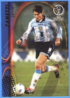 Panini FIFA World Cup 2002 Korea Japan Karte Nr.26 Javier Zanetti - Argentina   eBay