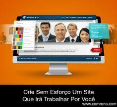 Crie Um Incrível Site Profissional Em... www.comreno.com Veja também: Como criar um site pela primeira vez. http://www.comreno.com/#!webdesign06/c210k