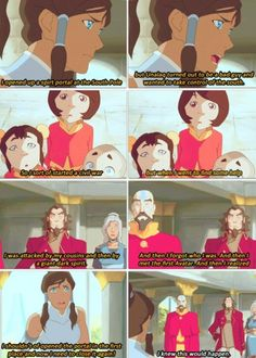The Legend of Korra: couldn't Tenzin warn someone this was going to happen? But Korra turned him away because she thought she knew better. Surprise, Korra did not know better. Korra Avatar, Team Avatar, Blade Runner, Avatar Series, Korrasami, Fire Nation, Air Bender, Legend Of Korra, Avatar The Last Airbender
