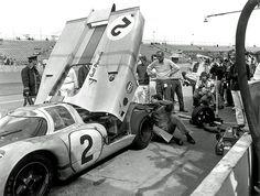 J.W. Gulf Rodriguez/Oliver driven Porsche 917 at Daytona 1971