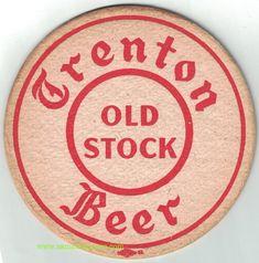 Trenton Old Stock Beer Coaster Beer Coasters