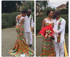 African Wedding Dress, African Print Dresses, African Fashion Dresses, African Dress, African Attire, African Wear, African Women, Ghana Fashion, Africa Fashion