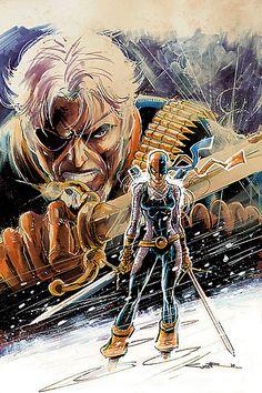 Slade & Rose Wilson | Deathstroke & Ravager by Yildiray Cinar