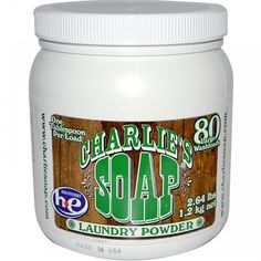 Charlies Soap Laundry Powder 80Lds (6x2.64LB )   MyHealthyBliss.com Pricey but if you are washing diapers or baby clothes, you gotta have it...