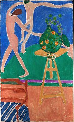 "Nasturtiums with the Painting ""Dance"" I / Henri Matisse"
