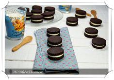Doblemente ricas estas galletas. Por un lado el amargor del cacao puro y por otro el dulzor de la mantequilla que la acompaña como relleno. ...