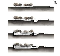It is a cut, we use it in architecture to visualize the size and . - It& a cut, we use it in architecture to visualize the size and the interior - Render Architecture, Coupes Architecture, Plans Architecture, Architecture Visualization, Architecture Graphics, Architecture Portfolio, Sections Architecture, Interior Architecture, Portfolio D'architecture