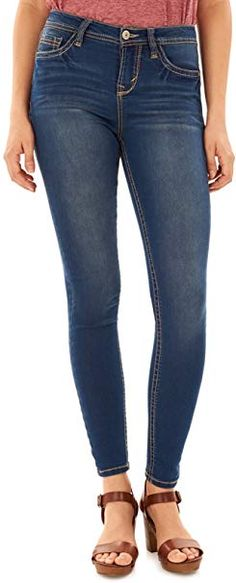 """$24.99 WallFlower Womens Juniors Irresistible Denim Jegging Jeans (28-30-32"""" Inseam) 52%Cotton-26%Rayon-21%Polyester-1%Spandex  Imported  Zipper closure  Machine Wash  Made with soft and stretch fabric, 5 functional basic pockets  High rise fit that slims and sculpts  Short=28"""" inseam, Regular=30"""" inseam Long=32"""" inseam. 9.5"""" Rise  Tight fit through leg, super skinny leg opening... #womanfashion,#womanfashions,#woman,#fashionhub, #fashionlover, #fashionlife, #fashion,#oufitideas,#outfit Wallflower Jeans, Juniors Jeans, American Eagle Jeans, Stretch Denim, Stretch Fabric, Jeans Brands, Skinny Legs, Super Skinny, How To Look Pretty"""