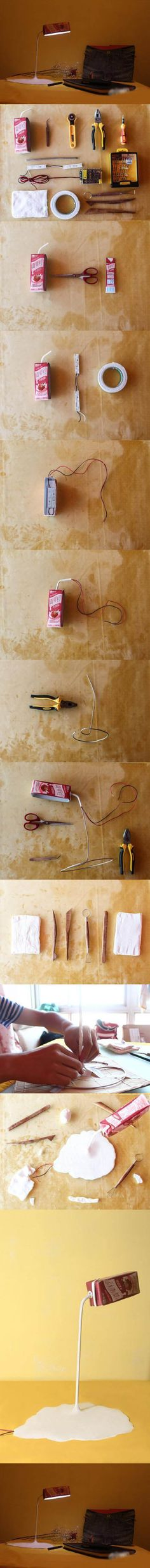 Diy Cool Lamp | Click to see More DIY & Crafts Tutorials on Our Site.