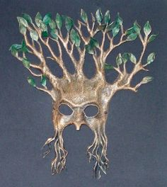 Miscellaneous Oddiments: Mask Galleries: Greenmen