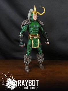 ... Legends Loki custom action figure by Raybot Customs - Wal-Mart Thor 6