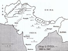 india 1946 | Click to enlarge image Map India 1900-1947