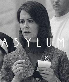 American Horror Story Asylum. Sarah Paulson as Lana.