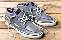 O, You wear Sperry's? You must be a great Sailor.