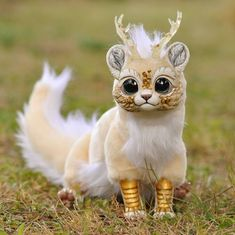 Cute fantasy creatures, mythical creatures, beautiful creatures, cute c Cute Fantasy Creatures, Mythical Creatures Art, Cute Creatures, Magical Creatures, Felt Animals, Cute Baby Animals, Baby Animal Drawings, Mystical Animals, Tier Fotos