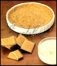 Pâte à tarte en biscuits (Micro-ondes) No Cook Desserts, Sweet Desserts, Easy Desserts, Sweet Recipes, Delicious Desserts, Dessert Recipes, Dessert Micro Onde, Butler, Microwave Recipes