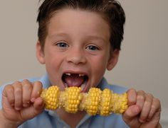 Front teeth gone? Makes it hard to eat corn on the cob. Kwon Pediatric Dentistry | #Dacula & #FloweryBranch | #GA | www.kwonpediatricdentistry.com