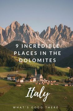 what's good there 9 Incredible Places in the Dolomites Italy Travel Travel European Destination, European Travel, Cool Places To Visit, Places To Travel, Italy Destinations, Holiday Destinations, Trekking, Backpacking Europe, Italy Travel Tips