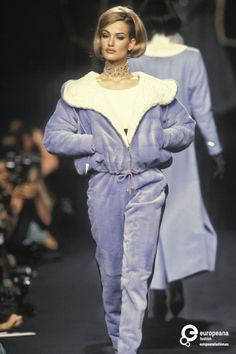 Karen Mulder - Lanvin, Autumn-Winter 1991, Couture