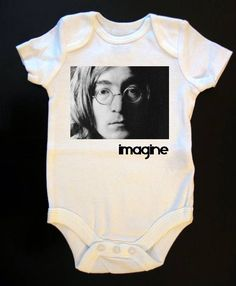 John Lennon Imagine Onesie or Tee