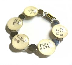 Items similar to ART Theme Dewey Decimal Library Catalog Card Charm Bracelet in Brass or Silver on Etsy Book Jewelry, Jewelry Crafts, Dewey Decimal System, Library Themes, Library Science, Gifts For Librarians, Vintage Library, Library Catalog, Baubles And Beads