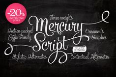 Check out Mercury Script by Fenotype on Creative Market