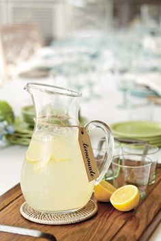 Fresh Squeezed Lemonade :)