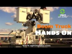 EPRO Safety Solutions: Hands On With The Boom Truck! - #EPROSafety #YouTube #safetytraining #safety #training #equipment #inspection #SaveALife #osha #preuse #construction
